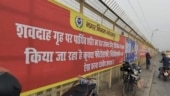 Banners put up to block view of cremation site in UP's Gorakhpur, removed after photos go viral