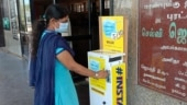 Chennai couple makes vending machine for face masks in public places