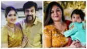 Meghana Raj bowled over by a fan art featuring Chiranjeevi Sarja and Jr Chiru. See pic