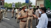 Telangana Congress chief says Hyderabad Police stopped his Covid relief work