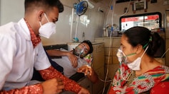 [REPRESENTATIVE IMAGE] Covid-19 patients in an ambulance in Ahmedabad