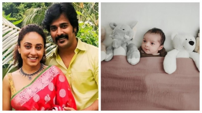 Pearle Maaney shares cute photo of daughter Nila. Dad Srinish Aravind reacts