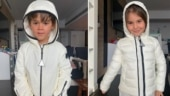 Karan Johar's twins Yash and Roohi are already prepping for monsoons. See adorable pics