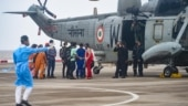 600 rescued from 4 barges hit by Cyclone Tauktae, Rajnath Singh lauds efforts of armed forces