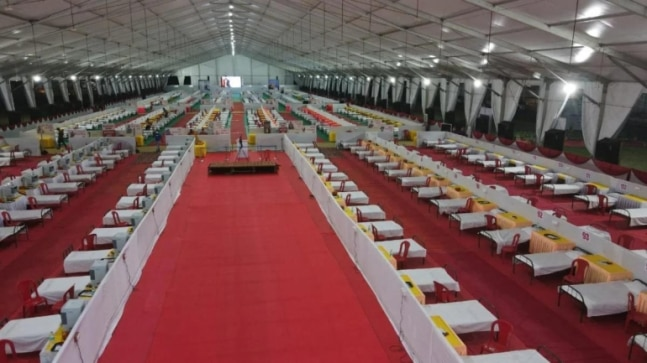 MP: 1000-bed quarantine centre with giant screen for Ramayana broadcast starts in Bhopal