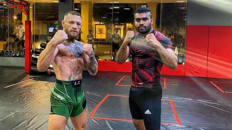 Conor McGregor backs Ramston Rodrigues to become India's next heavyeight champion (Conor McGregor Instagram)