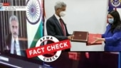 Fact Check: Edited clip shared as foreign minister Jaishankar violating Covid norms during G7