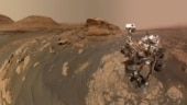 'Curiosity without its halo': HiRISE beams image from space as rover climbs mountain on Mars