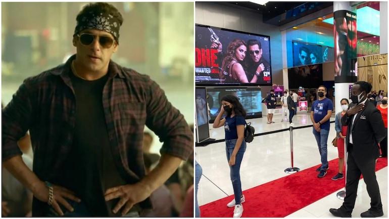 On Radhe release day, Dubai welcomes Salman Khan with dhol beats. Trending  videos - Movies News