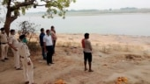 Panic among locals after dead bodies found buried on banks of Ganga in UP's Unnao