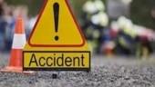 1 dead as liquor-laden truck falls into river, catches fire