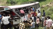 15 killed, 35 injured in bus accident in Pakistan