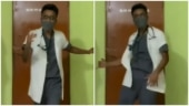 Assam doctor dances to Akshay Kumar's song Falak Tak Chal to cheer up Covid patients. Viral video