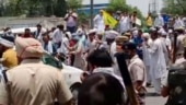 Police lathi-charge, use tear gas to disperse farmers protesting against Haryana CM Khattar
