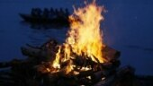 Rajasthan: Woman jumps on funeral pyre of father, who died of Covid-19; hospitalised with 70 per cent burns