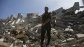 Israeli Airstrikes Kill 23 In Downtown Gaza City