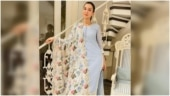 Gauahar Khan in Rs 14k blue kurta set is nothing short of ethereal. See pics