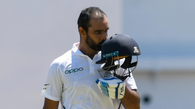 Hanuma Vihari juggles Covid-19 relief work and preparations for WTC Final during county stint