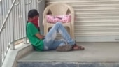 Wife in Covid ward, man waits outside with 5-day-old baby in Telangana's Secunderabad