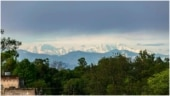 Snow-capped Himalayas visible from Saharanpur in UP 2nd year in a row. Trending pics