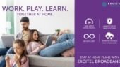 Excitel broadband introduces work-from-home plans starting from Rs 565 for three months, check all offers