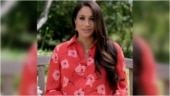 Pregnant Meghan Markle in Rs 1.2 lakh silk shirtdress makes a fashionable statement