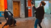 Old man dances with street performer as he plays guitar in viral video. Internet loves it