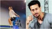Disha Patani does a perfect backflip in new video. Tiger Shroff is impressed