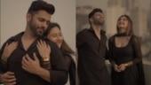 Rahul Vaidya, Rashami Desai share glimpse of their new music video, fans heart it