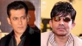Salman Khan sued KRK for defamatory remarks, not Radhe review: Statement