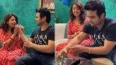 Newywed Sugandha Mishra celebrates husband Sanket Bhosale's birthday. Watch video