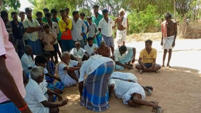 3 Dalit men forced to fall at feet of village panchayat, case filed against 8 in Tamil Nadu