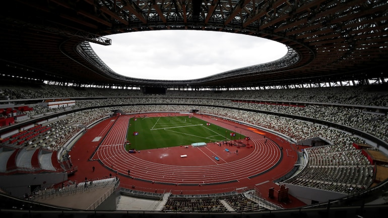 The National Stadium in Tokyo during the Tokyo 2020 Paralympics athletics test event (Reuters Photo)The National Stadium in Tokyo during the Tokyo 2020 Paralympics athletics test event (Reuters Photo)