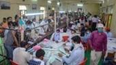 Gorakhpur: Losing Zila Panchayat candidates' supporters allege admin bias, set police post afire