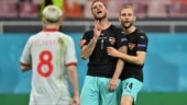 Euro 2020: UEFA to investigate Austria's Marko Arnautovic's goal celebration against North Macedonia