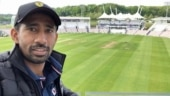India in England: Wriddhiman Saha shares 'view from the balcony', David Warner asks 'is that room 318?'