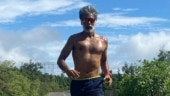 Milind Soman goes for first 10k run after Covid recovery. Ankita Konwar reacts