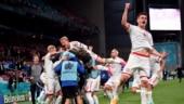 Euro 2020: Copenhagen erupts as Denmark through to Round of 16 with 4-1 win over Russia, Belgium top Group B