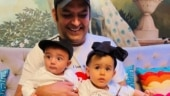 Kapil Sharma shares first pic of kids Trishaan and Anayra together on Father's Day