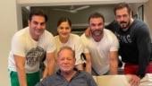 Salman Khan shares precious family photos with Salim Khan on Father's Day