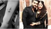 Anshula is the ace up Arjun Kapoor's sleeve. New tattoo alert