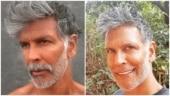 Milind Soman reveals his new good habit, shows off his salt and pepper look. See pics