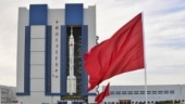 Rocket on pad, China ready to send first crew to space station