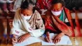 Covid-19 lockdown brings gift of education for the elderly in remote Manipur village