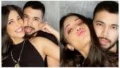 Shruti Haasan teases boyfriend Santanu Hazarika with childhood rhymes. Watch video