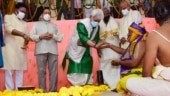 L-G takes part in Bhoomi Pujan at Venkateswara temple, calls it historic and proud day for J&K