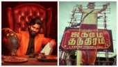 Dhanush gets a huge cutout ahead of Jagame Thandhiram Netflix release. See pic