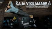 Kartikeya announces title and first-look poster of Raja Vikramarka
