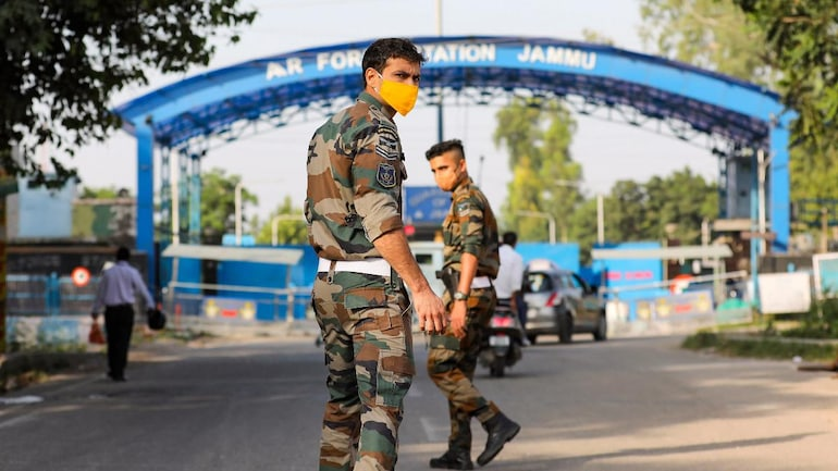 Drone attack at Jammu air base: 2 suspects detained, IAF chief monitoring situation   What has happened so far - India News