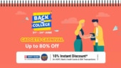 Flipkart Back to College gadgets carnival sale goes live, here are some popular offers